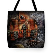 The Coffer Of Spells Tote Bag