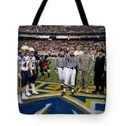 The Coin Toss Tote Bag