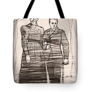 The Colonel And The Mrs Tote Bag