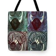 The Color Of Fear Tote Bag