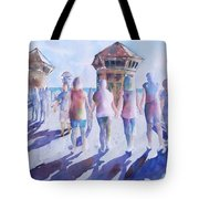The Color Of Friendship Tote Bag