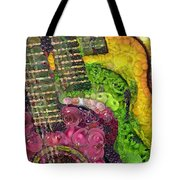 The Color Of Music In The Way Of Arcimboldo Tote Bag