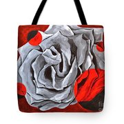 The Color Red Two Tote Bag
