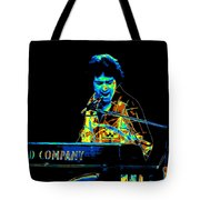 The Colorful Sound Of Bad Company 1977 Tote Bag