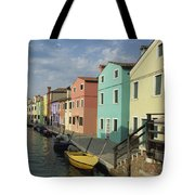 The Colors Of Burano Tote Bag