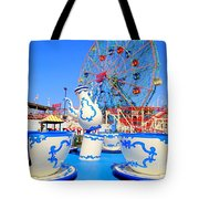 The Colors Of Coney Tote Bag