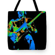 The Colors Of Mick's Music Are Vivid Tote Bag