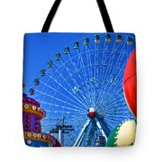 The Colors Of The State Fair Of Texas Tote Bag