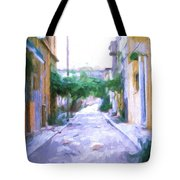 The Colors Of The Streets Tote Bag