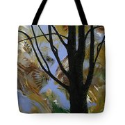 The Colors That Are Not Leaves Tote Bag