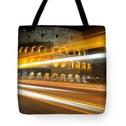 The Colosseum Lights Tote Bag