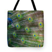 The Colours Of The Peacock Tote Bag