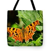 The Comma -- Polygonia C-album Tote Bag
