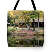 The Commissioners Cabin In Autumn Tote Bag