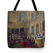 The Committee Of Lyon, 26th January 1802, 1808 Oil On Canvas Tote Bag