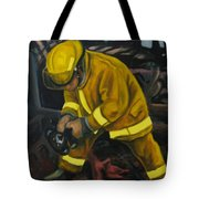The Compulsion Towards Heroism Tote Bag