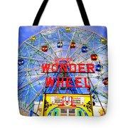 The Coney Island Wonder Wheel Tote Bag