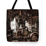 The Coopers Shop - 19th Century Workshop Tote Bag