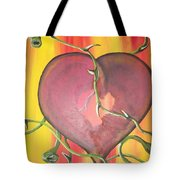 The Core Of My Heart Tote Bag