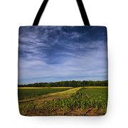 The Corn Fields Of Alabama Tote Bag
