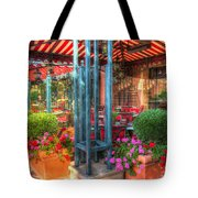 The Corner Cafe Tote Bag