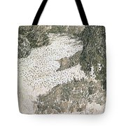 The Corner Of The Park Tote Bag