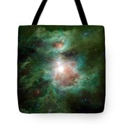 The Cosmic Hearth Tote Bag