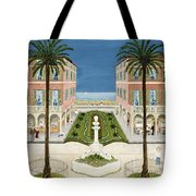 The Cote Dazur, 1981 Tote Bag