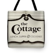 The Cottage In Lake Placid New York  Tote Bag