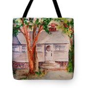 The Cottage In The Highlands Tote Bag