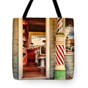 The Country Barber Tote Bag