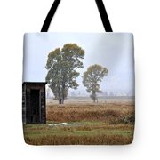 The Country Outhouse Tote Bag