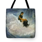 The Couple's First Dance Tote Bag