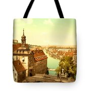 The Court House-bamberg-bavaria-germany - Between 1890 And 1900 Tote Bag