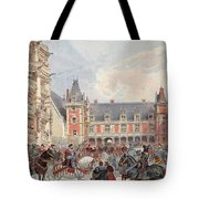 The Court In Chateaus Of The Loire Tote Bag