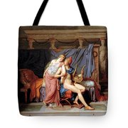 The Courtship Of Paris And Helen Tote Bag