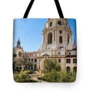 The Courtyard - Beautiful Pasadena City Hall. Tote Bag