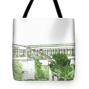 The Covered Bridge Tote Bag