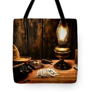 The Cowboy Nightstand Tote Bag