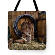 The Cowboy Tote Bag by Paul Ward