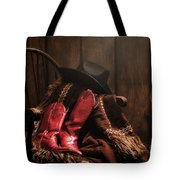 The Cowgirl Rest Tote Bag