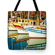The Crab Fleet Tote Bag by Bill Gallagher