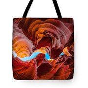 The Crack In The Sky Tote Bag