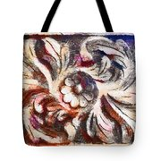 The Crayoned Leaves  Tote Bag