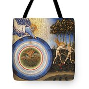 The Creation Of The World And The Expulsion From Paradise Tote Bag
