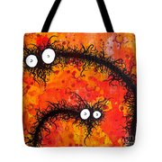The Creatures From The Drain Painting 31 Tote Bag