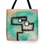 The Creatures From The Drain Painting 9 Tote Bag