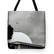 The Crescent And Star Tote Bag