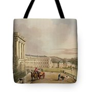The Crescent, Detail Of The Street Tote Bag