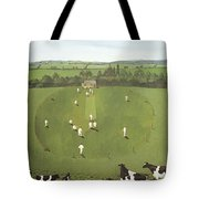 The Cricket Match Tote Bag